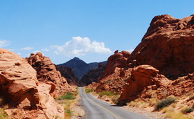 Valley of Fire: Hinter Elephant Rock